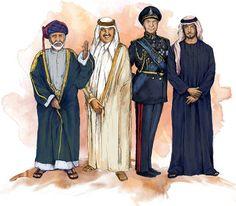 Qual a diferença entre sultão, emir, xeique e xá?
