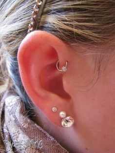 Image result for forward helix hoop