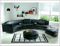 This sectional sofa set will turn your living room into a cozy and luxurious state.