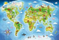 Puzzle Maxi Harta Lumii