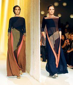 Manish Malhotra made magic at Lakme fashion week