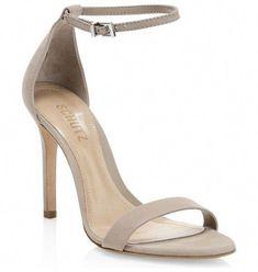 a99d986ead2 Cadey-lee suede ankle-strap sandals by Schutz  schutz  nudeshoes  sandals