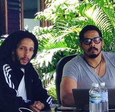 Mr. Rohan Marley & Mr. Julian Marley