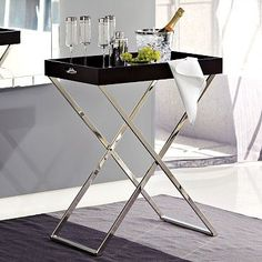 I'm thinking a butler stand & tray would be a good investment for the new place...