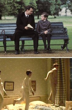 When I think of your mother, I will always remember how happy she looked, sitting there in the parlor watching a play about her family, about her boys that never grew up. She went to Neverland. And you can visit her any time you like if you just go there yourself.   - FINDING NEVERLAND