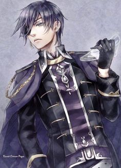 Ciel grown up. He looks so much like dad.