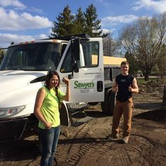 Have you seen our #landscaping and tree work team around central and southern #Saskatchewan this summer? #Sawyers