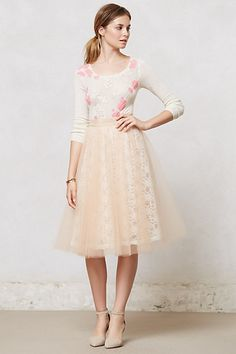 Gorgeous tulle skirt #anthropologie