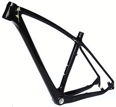 Full Carbon UD Glossy 29er Mountain Bike MTB Cycling BB30 Frame 17' -- Click image for more details.