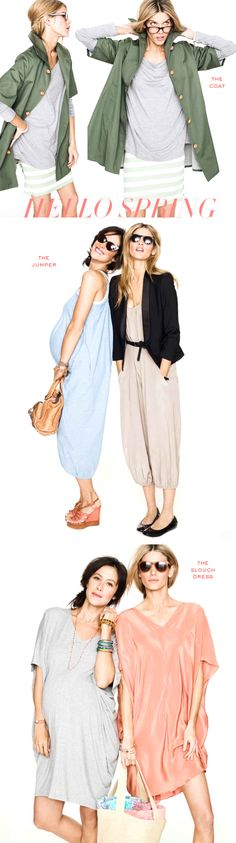 HATCH maternity:  chic pieces to wear before, during, and after your baby comes. The CUTEST stuff!