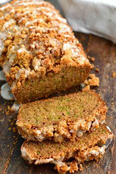 Cinnamon Zucchini Bread, Zuchinni Bread, Lemon Zucchini Bread, Fruit Bread, Zucchini Bread Recipes, Zucchini Bread Muffins, Zucchini Cake, Dessert Bread, Dessert Recipes