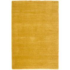 Kris Tapis160x230cm jaune