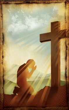 3-10-13: Praying At The Cross