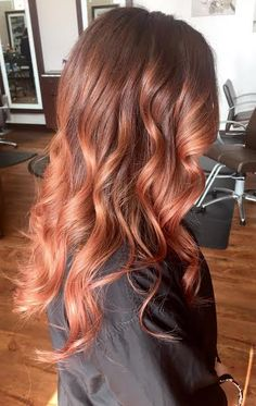 Rose Gold Balayage - Aveda - Tangerine Salon