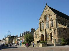 Coatbridge, Scotland  Where my grandmother was from.