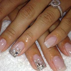 Beautiful Bridal Nails!