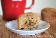 #Homemade #Caramel #Mocha #Banana #Chip #Muffins #Recipe