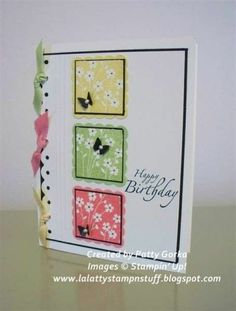Cute layout. Great colors. Love the border punch with the coordinating ribbon tied through it!