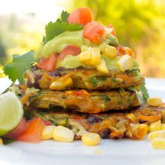 Mexican Vegetable Fritters - VeganEasy.org