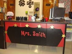 Movie Star Themed Classroom   Hollywood Classroom Theme