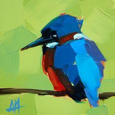 Kingfisher no. 9 Pintura | moulton angela de pintura al día