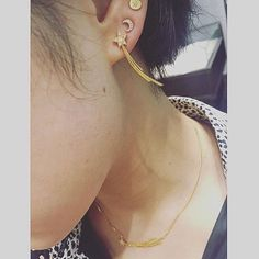 Love this post from @c88u wearing our new season #HUIA collection #shootingstars - we have sold out of the shooting star necklaces for the minute but be sure to check stockists(stockists page on our website) on line as we sell all over the world to selected boutiques. This customer got hers at one of our favourites @hpfrancebijoux