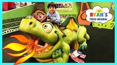 CHILDREN'S MUSEUM Family Fun Trip to Kids Indoor Play Area with Children Activities and Kids Toys - YouTube