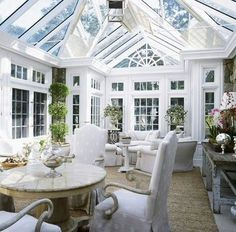 Great conservatory styling