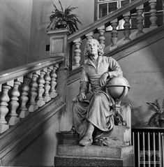 Polska Akademia Umiejętności, ul. Sławkowska 17 - pomnik Mikołaja Kopernika Krakow, Statue, Fotografia, Poland, Sculptures, Sculpture