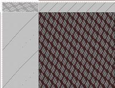 draft image: 20 sur 80, Planche A, No. 4, P. Falcot: Traité Encyclopedique et Méthodique de la Fabrication Des Tissus, 20S, 75T