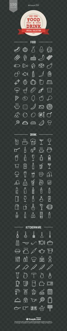 Food and Drink Free Vector Icons, #Food, #Food and #Drink, #Free, #Graphic #Design, #Icon, #PNG, #Resource, #SVG, #Vector