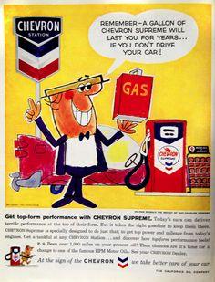 Chevron Ad, 1959