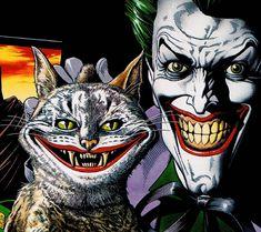 Batman Legends Of The Dark Knight Cat Joker Comics Poster Batman Wallpaper, Animal Wallpaper, Cartoon Wallpaper, Hd Wallpaper, Joker Comic, Comic Poster, New Poster, Joker Arkham, Giant Wall Art