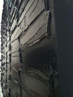 Pierre Soulages broie du noir Contemporary Abstract Art, Modern Art, Illustration Photo, Sr1, Art Abstrait, White Art, Installation Art, Abstract Expressionism, All Art