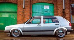 Volkswagen Golf Mk2 tuning VR6 engined