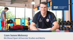 Liam James Moloney, BA (Hons) Sport and Exercise Studies and Maths student, talks about the reasons he chose to study at Derby.  To find out more visit www.derby.ac.uk/science/sport-and-exercise