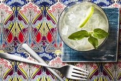 Get the recipe for Citrus and Mint Champagne Punch.