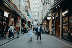 Beautiful and casual engagement photography in Melbourne, Australia. By PixlPopr.