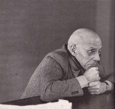 Source: Michel Foucault (Michelle Bancilhon, Magnum) In Michel Foucault: Une histoire de la vérité, Paris: Syros, 1985, pp. 28