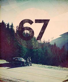 Supernatural! Dean's baby! Tht beautiful 67 Chevy impala! Rawr!