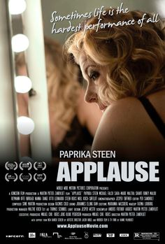 """Applaus [Applause] - Martin Zandvliet 2009 -- """"Critically acclaimed alcoholic actress Thea Barfoed has gone through turmoil, resulting in a divorce & the loss of custody of her 2 boys. Eager to break with the past, regain control over her life, & get her children back, she uses charm & manipulation to persuade her ex-husband, Christian, that she is able to take back the mantle of motherhood. But ironically, she has not completely convinced herself."""""""