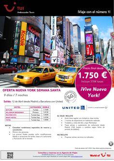 ¡Vive Nueva York! Semana Santa estancia en Nueva York. Precio final desde 1.750€ ultimo minuto - http://zocotours.com/vive-nueva-york-semana-santa-estancia-en-nueva-york-precio-final-desde-1-750e-ultimo-minuto/