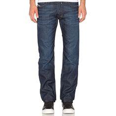 Diesel Safado Jean Denim (8.335 RUB) ❤ liked on Polyvore featuring men's fashion, men's clothing, men's jeans, jeans, mens denim jeans, mens button fly jeans and diesel mens jeans