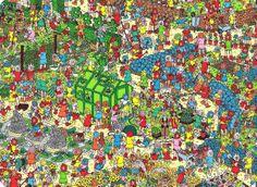 The fantastic flower garden, Where's Wally?