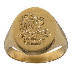 yellow Gold Signet Ring,1910ca