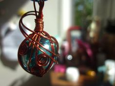 Wire Wrapped Marble