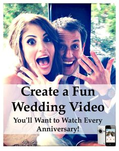 The WeddingMix app lets you create a wedding video from your guest's photos and videos.