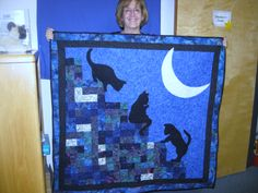 Charity quilt for Cat Adoption Team. 2010