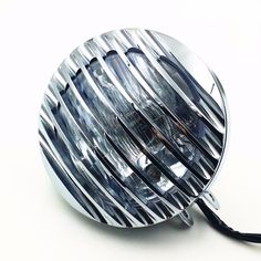 Grill High/Low Beam Motorcycle Headlight Lamp Dyna Sporster Cruiser Chopper Cafe #Unbranded