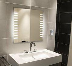 Light Mirrors - Illuminated Bathroom Mirror 650 x 600 Platinum Range 1013: Amazon.co.uk: Kitchen & Home £139.99